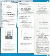 Bp    Houtvenne    Van Der Mieren    8 Stuks - Imágenes Religiosas
