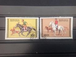 Mongolië / Mongolia - Set Paarden 1977 - Mongolië