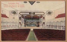 Cuba  CIENFUEGOS Teatro Luisa Martinez Casado  Intrior  Cu162 - Cuba