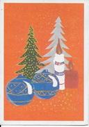 ALLEGORIA NATALIZIA- VIAGGIATA 1977 - COPPIA SIRACUSANA LIRE 60 - Noël