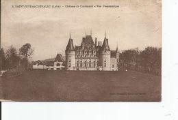 SAINT JUST EN CHEVALET    Chateau De Contenson    Vue Panoramique - Autres Communes