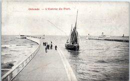 OSTENDE - L'entrée Du Port (voilier) - Oostende
