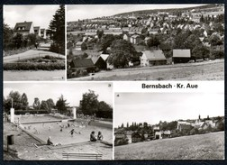 A7761 - Alte MBK Ansichtskarte - Bernsbach Kr. Aue - Freibad - Karpf TOP - Bernsbach