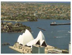 (777) Australia - NSW - Sydney Opera House & Harbour With Tanker Ship - Sydney