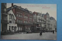 Blankenberge Les Villas Boma Et Léopold II Sur La Digue (colorisée) - Blankenberge