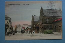 Blankenberge La Gare (colorisée) - Blankenberge
