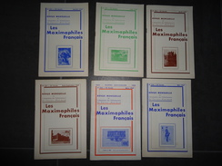 6 REVUES 1967 /69 LES MAXIMAPHILES FRANCAIS N° 221/223/224/225/227/243 VOIR PHOTOS - Catalogi Van Veilinghuizen