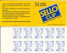 CHILE, 1987, Booklet 1, Sanfuentes - Chili