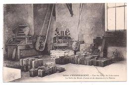 CPA Rinxent Pas De Calais 62 Usine Pavage En Briques Hydrequent Salle Du Laboratoire Essais Usure Et Résistance - Frankrijk