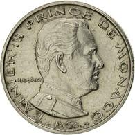 Monaco, Rainier III, 1/2 Franc, 1968, SUP, Nickel, KM:145, Gadoury:MC 149 - 1960-2001 Nouveaux Francs