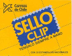CHILE, 1987, Booklet 1a, Sanfuentes, Unglazed Cover - Chile
