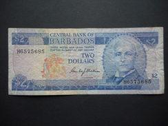 Barbados 2 Dollars 1980 - Barbados