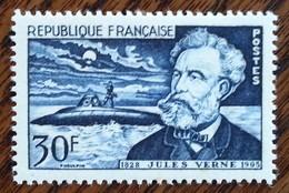 France - YT N°1026 - Jules Verne - 1955 - Neuf - Ongebruikt