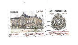 85ème Congrès De La Fédération Des Associations Philatéliquesà Paris 4678 Oblitéré 2012 - France