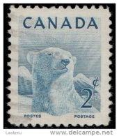 Canada 1953. ~ YT 257 - Ours Blanc - 1952-.... Elizabeth II