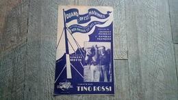 Partition Quand On Est Marinier Musique Film Tino Rossi Poterat Scotto Marine - Autres
