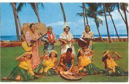 Cpsm Hawaï, Pounding Poi The Waikiki Hula Show - Autres