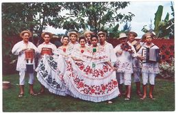 """Cpsm Panama - El Famoso """" Conjunto Tipico Cajar """" ... - Panama"""
