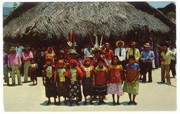 """Cpsm Panama - Fiesta En El """" Dia De Los Indios """" ... San Blas - Panama"""