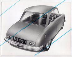 < Automobile Auto Voiture Car >> Belle Photo De Presse Originale 18 X 24 Citroën 2CV Bijou 1960 - Automobiles