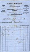 VP11.0105 - Pianos & Harmoniums Maison MENETRIER à CHALON SUR SAONE - France