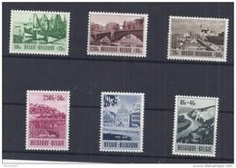Belgie - Belgique 918/23  Culturele Uitgifte 1953 - Met Plakker - Charniere - Belgique