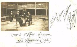 Real Photo Postcard  HOTEL MIRAMAR HAVANA CUBA 1913 - Cuba