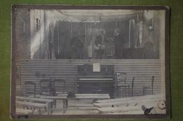 Aix-en-Othe En 1908 - Scène De Théatre - Piano, 3 Personnages - Lieux