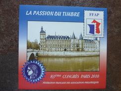 2010 _ 83ème Congrès FFAP PARIS ** MNH - FFAP