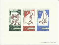 CAMERUN   YVERT  H/B 4   MNH  ** - Summer 1968: Mexico City