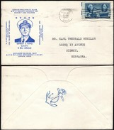 USA - ERNEST J. KING, US Postage Stamps Centenary Cover LORAIN 23 OCT 1947. - Vereinigte Staaten