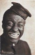 "Mr Bert.A.Williams - ""A Jolly Coloured Coon"" - Afrique"