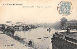 78-MAURECOURT- LE PORT ET LES PENICHES - Maurecourt