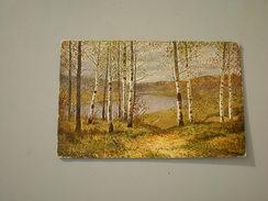E. E. Wolkow, The Autumn, Herbst - Peintures & Tableaux
