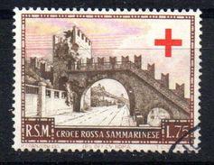 Sello Nº 344 San Marino - Usati