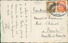 Bahnpost Aschaffenburg-Miltenberg Auf AK, O 1933 (24024) - Poststempel - Freistempel