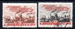 Sellos Nº 1234 Y 1236 Rusia - 1923-1991 URSS