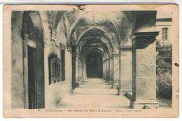 39..DOLE - LES  ARCADES  DU  PALAIS  DE JUSTICE  + TIMBRE  PERFORE  CC    BE - Dole