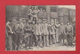 Juvisy  -- Convoi De Prisonniers Alsaciens Lorrains En Gare De Juvisy - Juvisy-sur-Orge