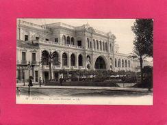 06 Alpes Maritimes, Menton, Le Casino Municipal, Animée, 1912, (L. L.) - Menton