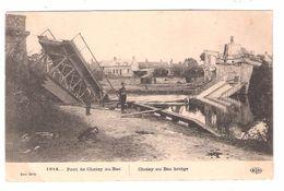 Guerre 1914 : Pont De CHOISY AU BAC  ( Bombardé ); TB - Guerre 1914-18