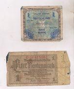 2 BILLETS ALLEMAGNE EN 1932 Et 1944! - Other