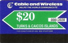 *TURKS & CAICOS* - Scheda Usata - Turks And Caicos Islands