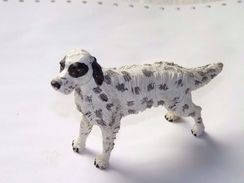 FIGURINE CHIEN RESINE / 12 X 8 Cm Environ - Dogs