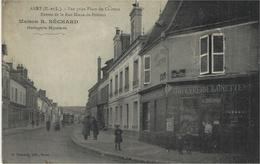 ANET -entrée De La Rue Diane-de-Poitiers - Maison R.BECHARD / Horlogerie Bijouterie -ed. Foucault - Anet