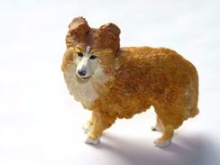 FIGURINE CHIEN RESINE / 5.7 X 6 Cm Environ - Dogs