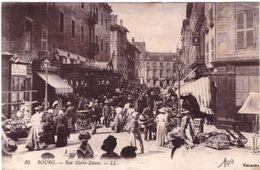 Bourg Rue Notre Dame (jour De Marché) - Bourg-en-Bresse