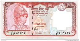 Nepal - Pick 55 - 20 Rupees 2005 - Unc - Népal