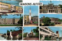 CPA N°11676 - LOT DE 2 CARTES DE MAISONS ALFORT - Maisons Alfort