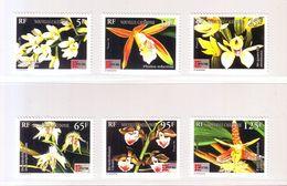 NOUVELLE-CALEDONIE 1996 - YT N° 714/719. Orchidées Calédoniennes  - Neuf ** - Orchideen